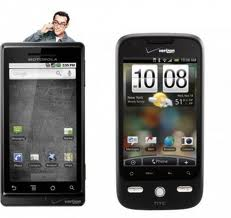 Review: Droid X versus Droid Incredible (psst…slight edge to the latter)