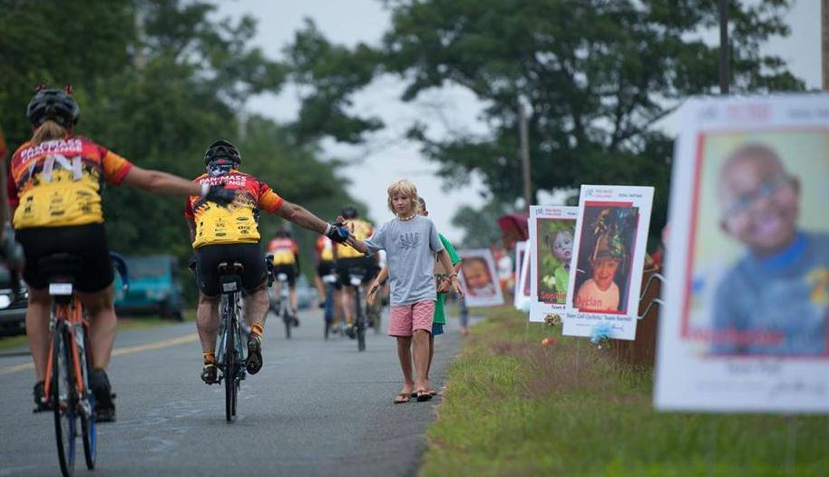 Pan Mass IV letter – a wet and wild ride